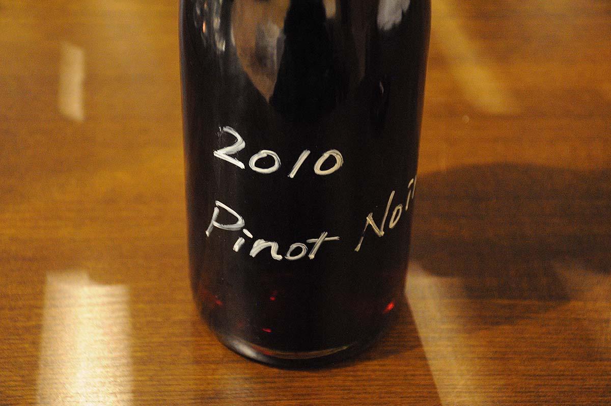 丹波鳥居野ピノ・ノワール2010