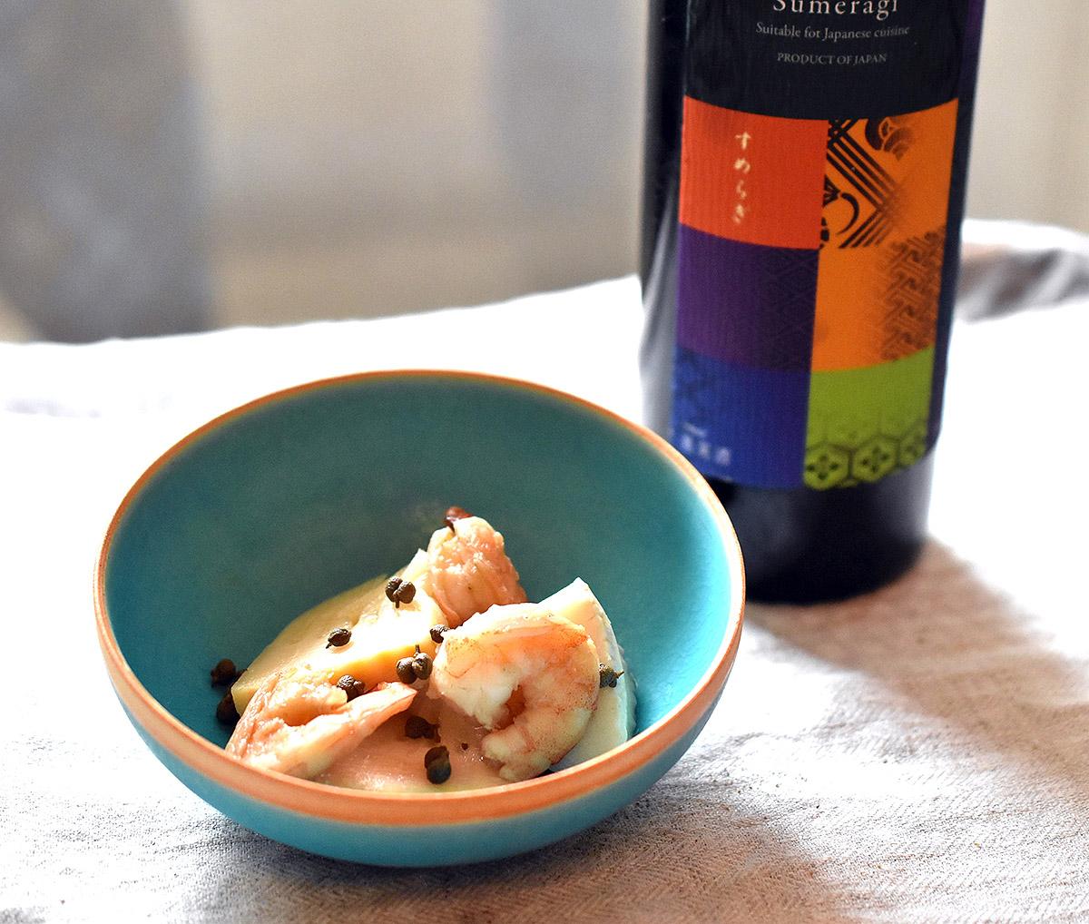 料理&ワイン:筍と海老 すめらぎ last