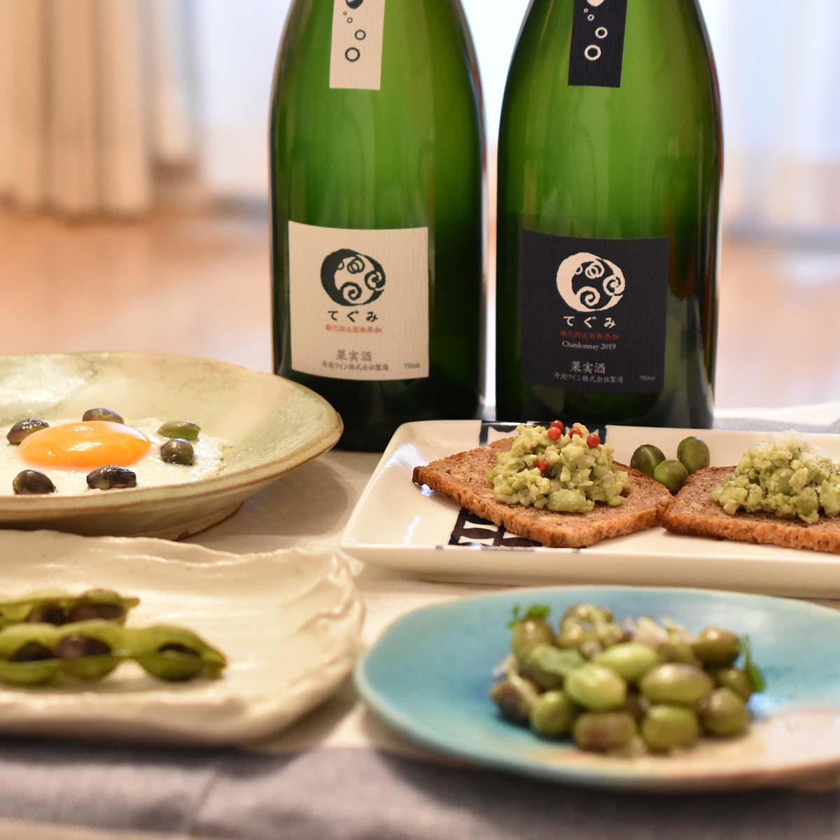 伴良美の季節の京野菜を楽しもう Vol4 丹波黒豆枝豆 四季